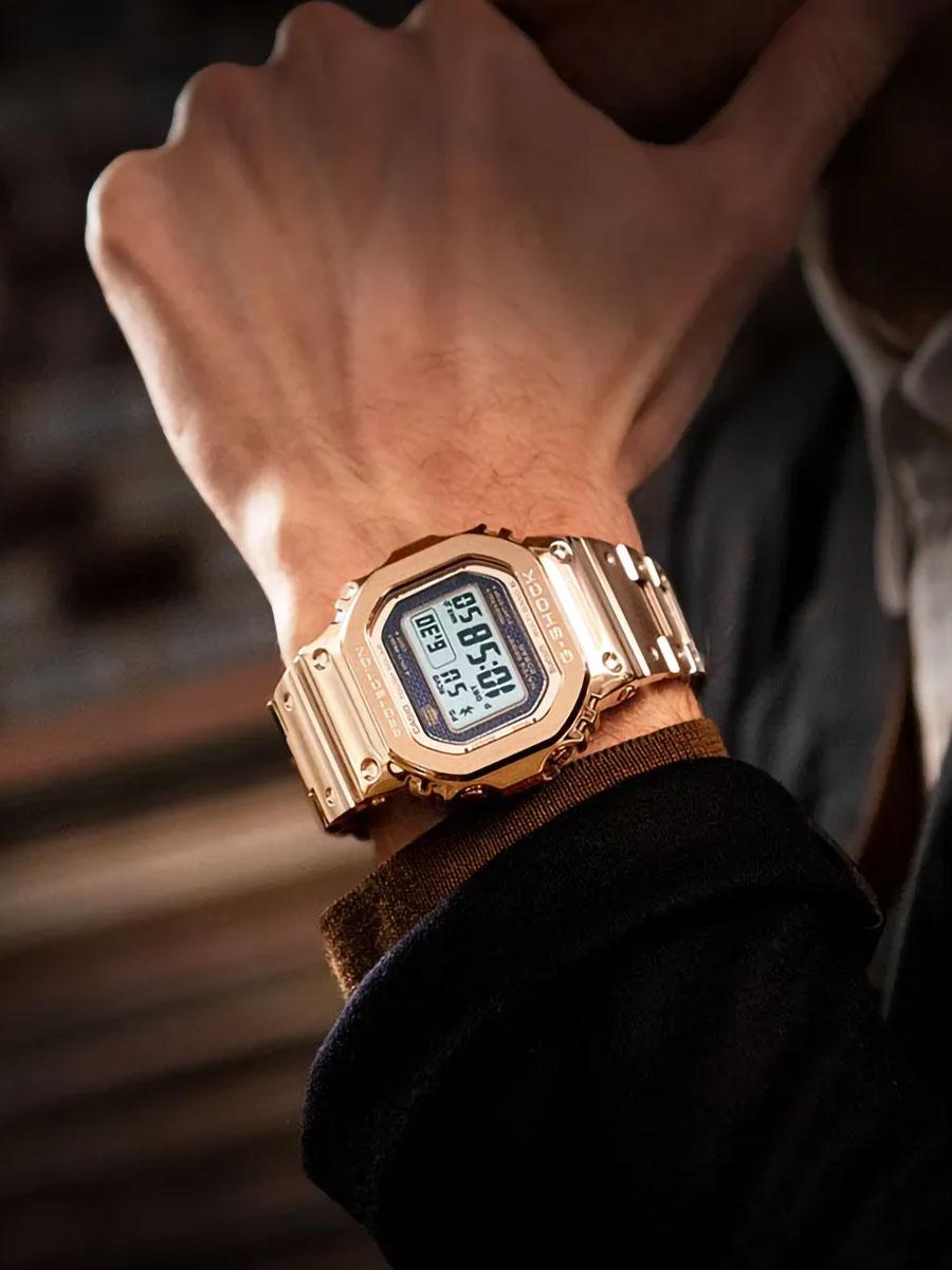 G-Shock GMWB5000GD-4 Full Metal Watch