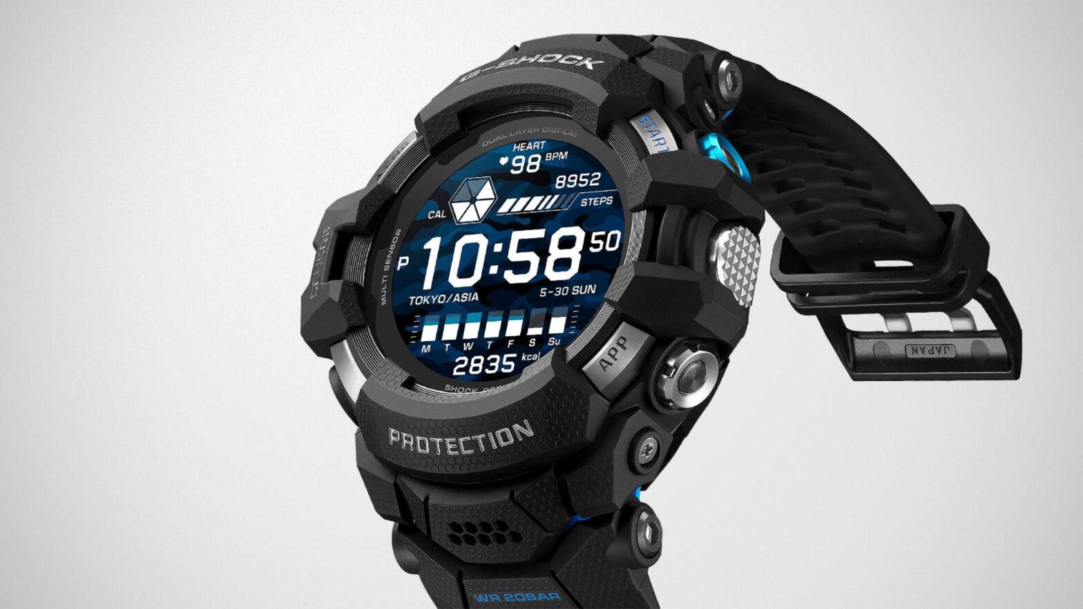 G-Shock GSW-H1000 G-Squad Pro Smartwatch