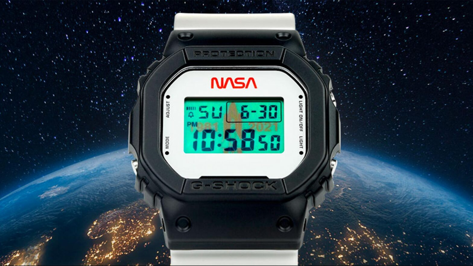 G-Shock x NASA DW5600NASA21 Wrist Watch