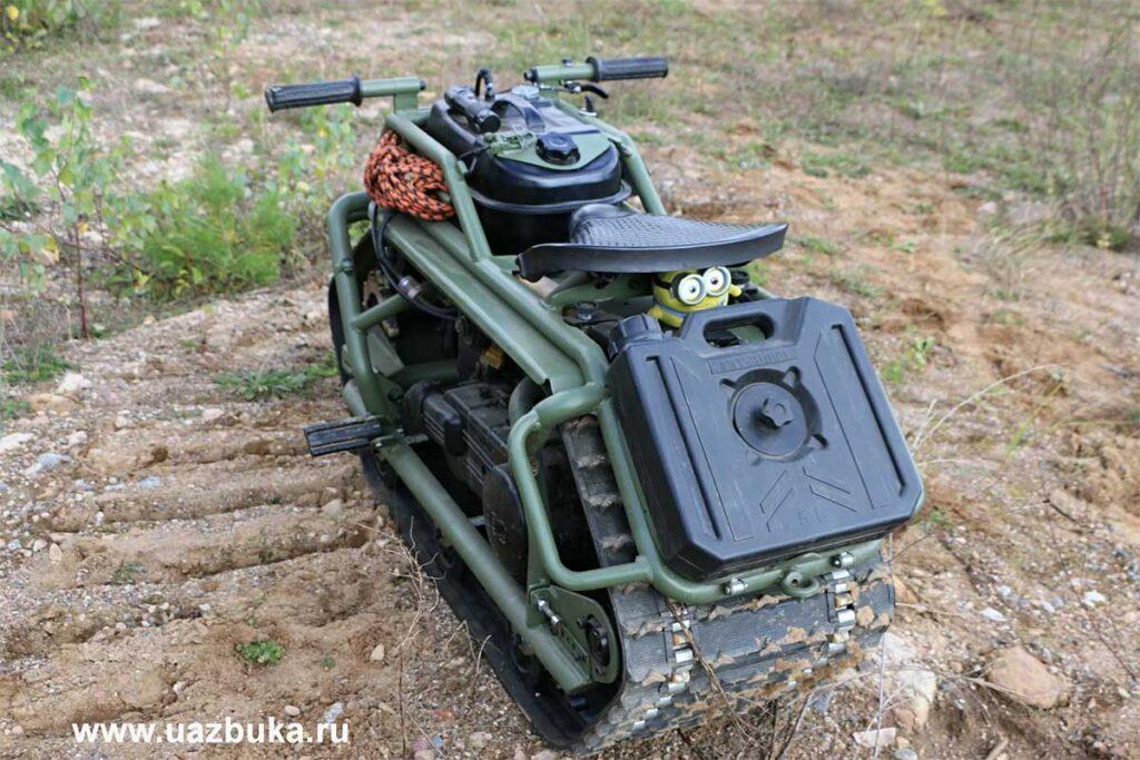 Hamyak All-terrain Tracked Motorcycle