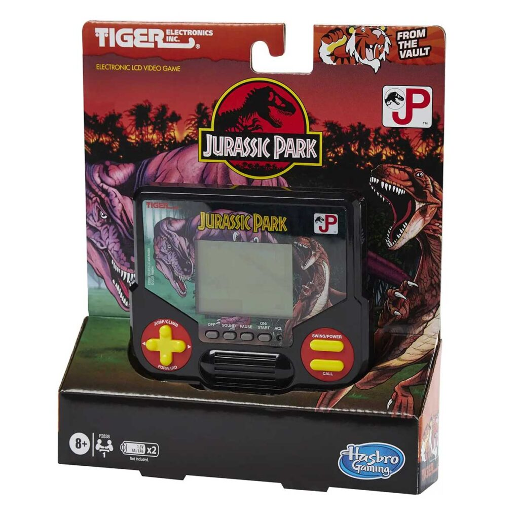 Tiger Electronics Jurassic Park LCD Video Game