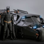 Hot Toys Re-release <em>Batman Begins</em> 1/6th Scale Batmobile And <em>Batman</em> Figure