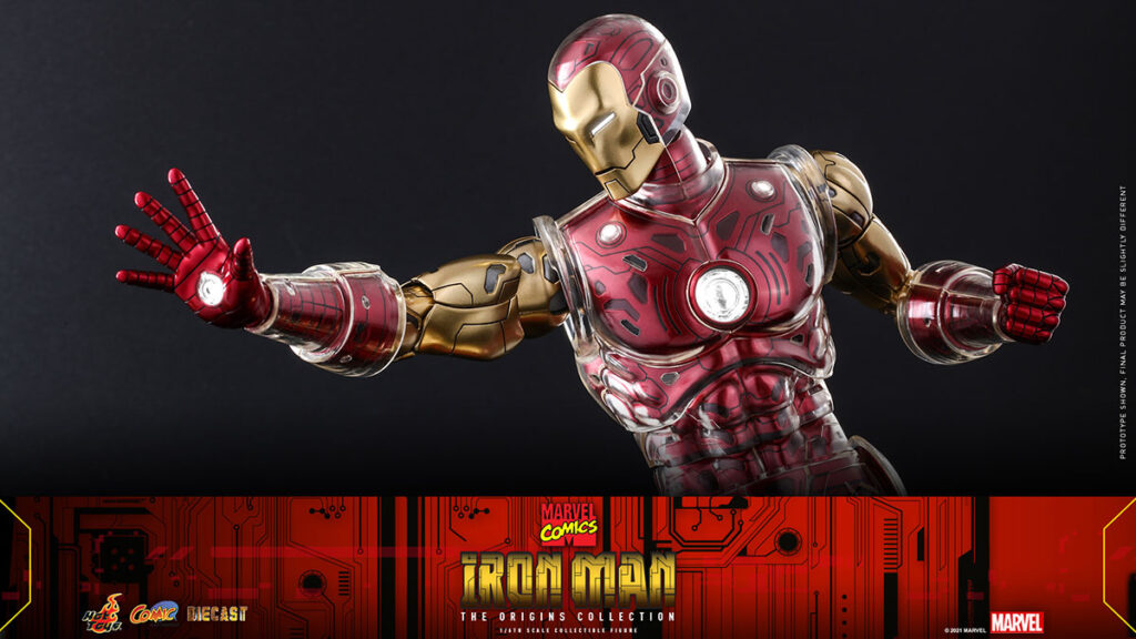 Hot Toys Iron Man The Origins Collection Figure