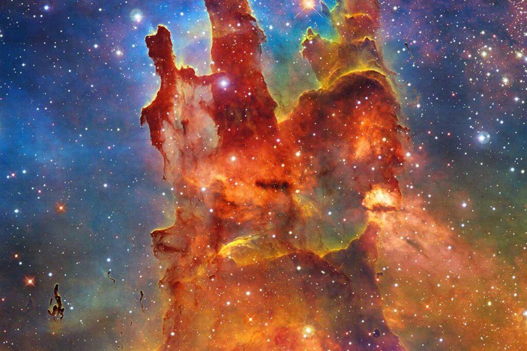 Hubble Space Telescope Pillars of Creation