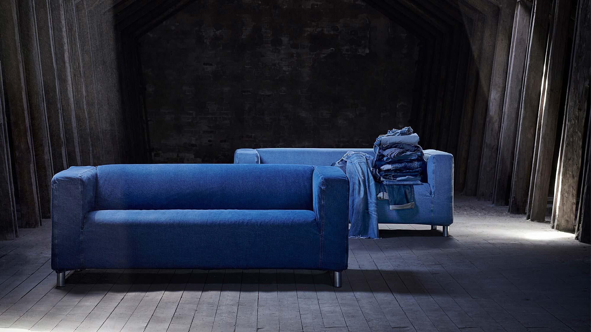 IKEA x MUD Jeans KLIPPAN Sofa Cover