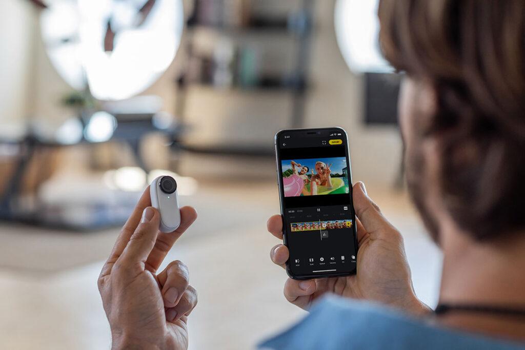 Insta360 GO 2 27 gram Action Camera