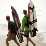 Keep Your Surfboard Off Your Hands With The Koraloc Surfboard-carrying Backpack