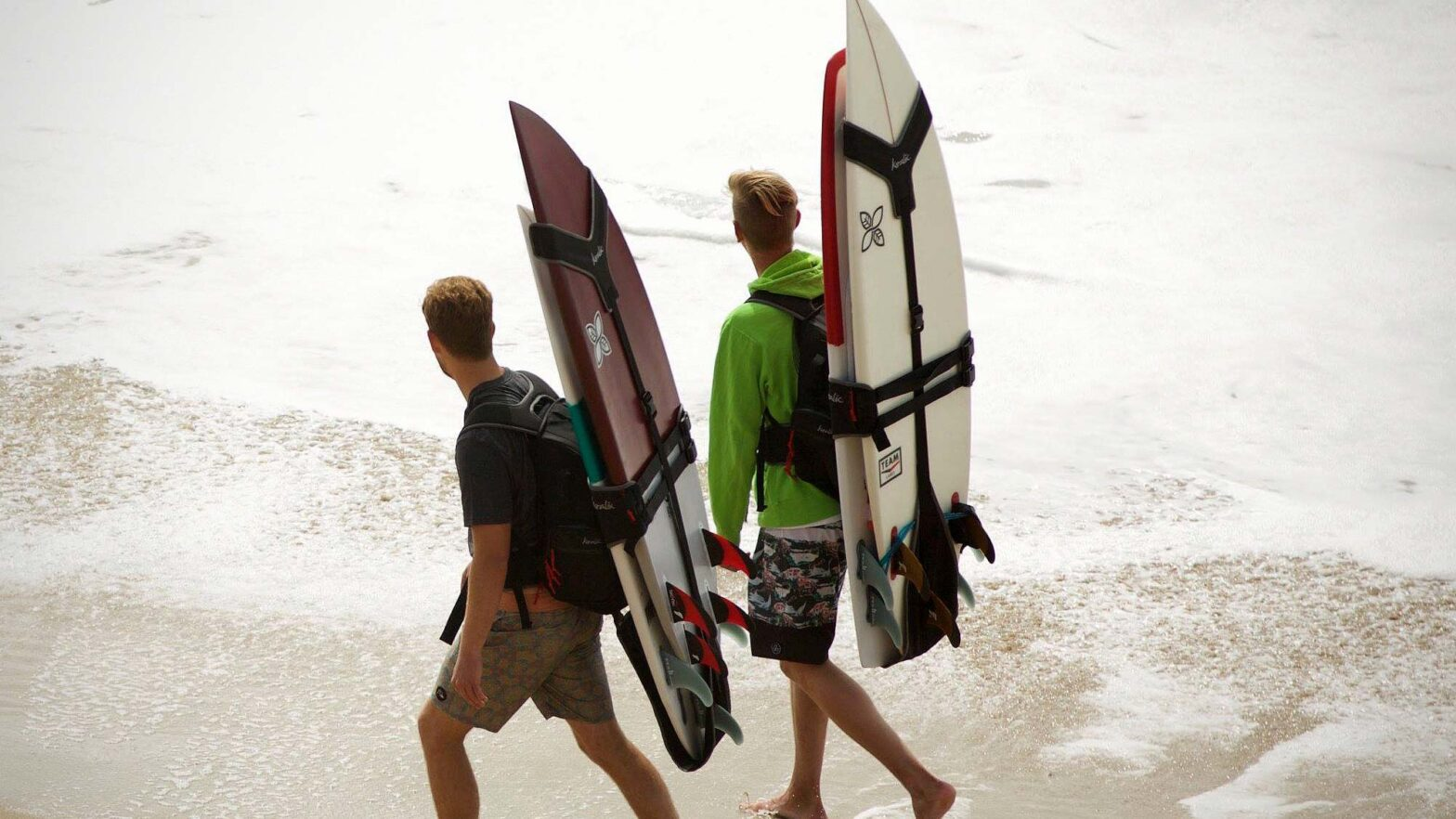 Koraloc Backpack for Carrying Surfboard