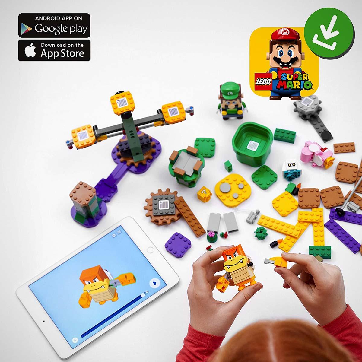 LEGO 71387 Super Mario Luigi Starter Course China