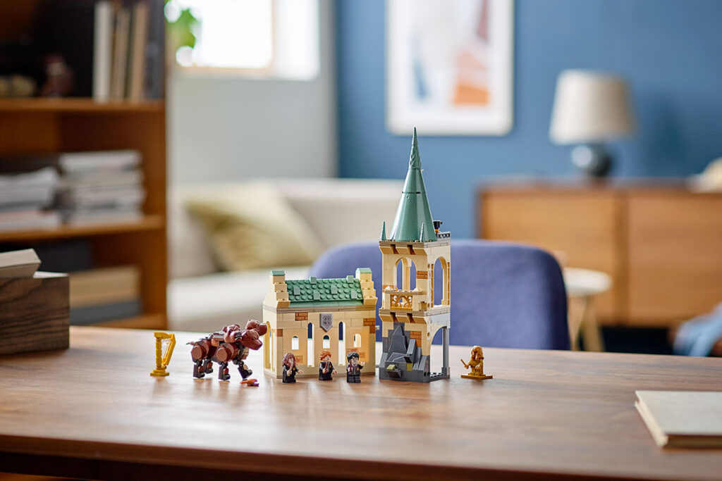LEGO 76387 Harry Potter Hogwarts Fluffy Encounter