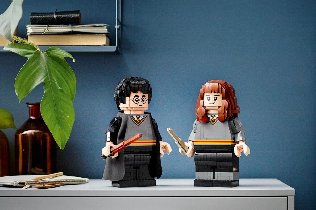 LEGO 76393 Harry Potter Harry Potter and Hermione Granger