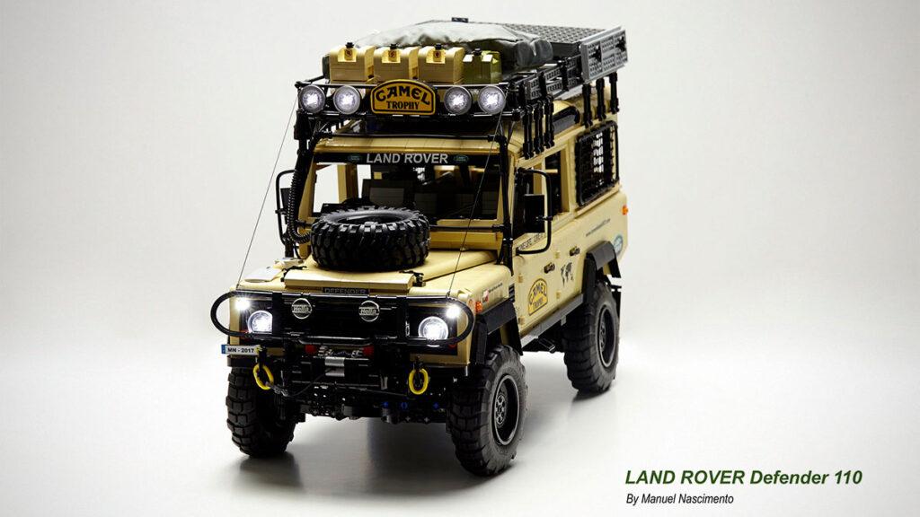 LEGO Land Rover Defender 110 by Manuel Nascimento