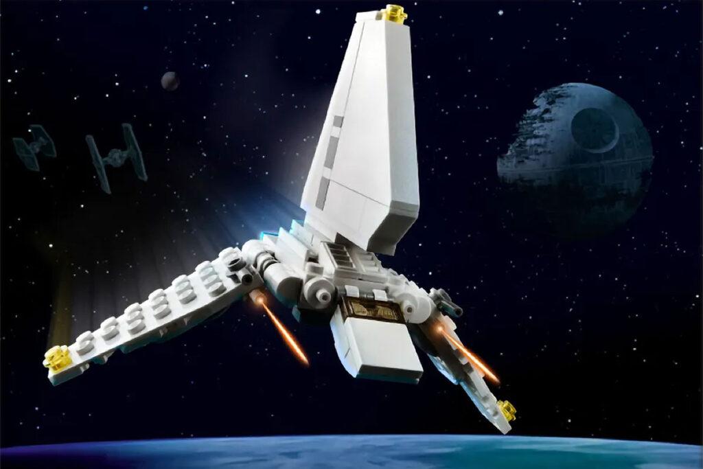 LEGO Micro Imperial Shuttle