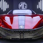 MG Cyberster Is All All Electric Roadster Concept With 500-Mile Range