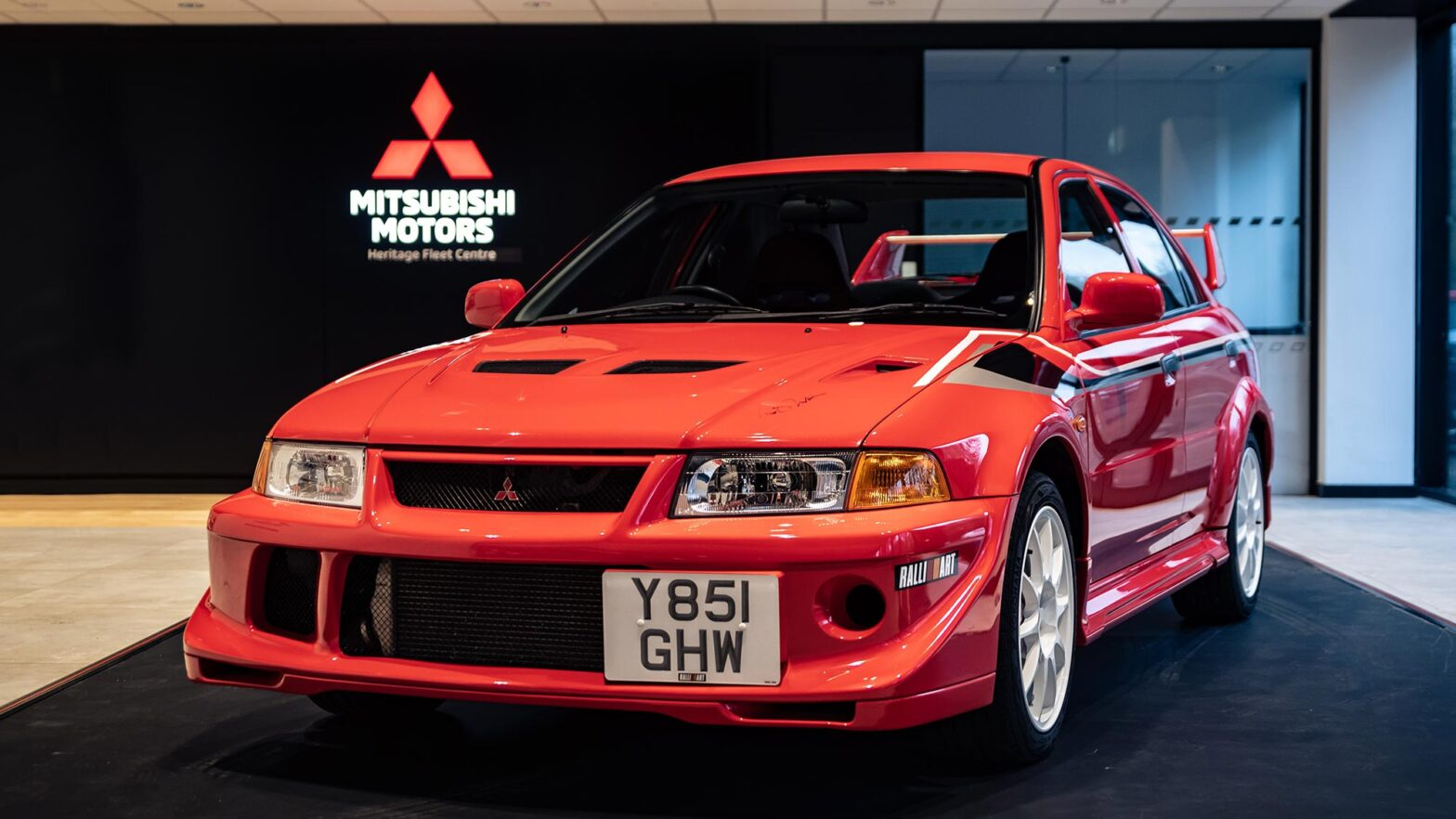 Mitsubishi Motors UK Heritage Fleet Auction