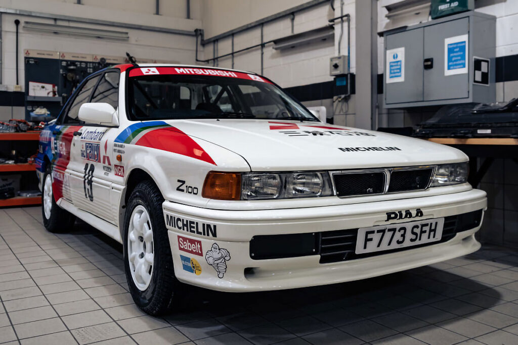 Mitsubishi Motors UK Heritage Fleet Auction