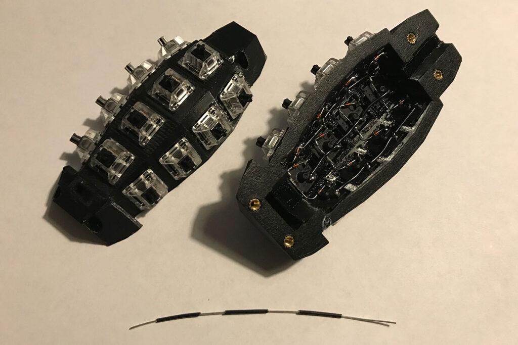 Pineapple Grenade Mechanical Keyboard