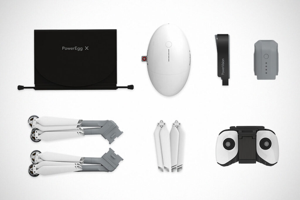 PowerVision PowerEgg X Drone Update