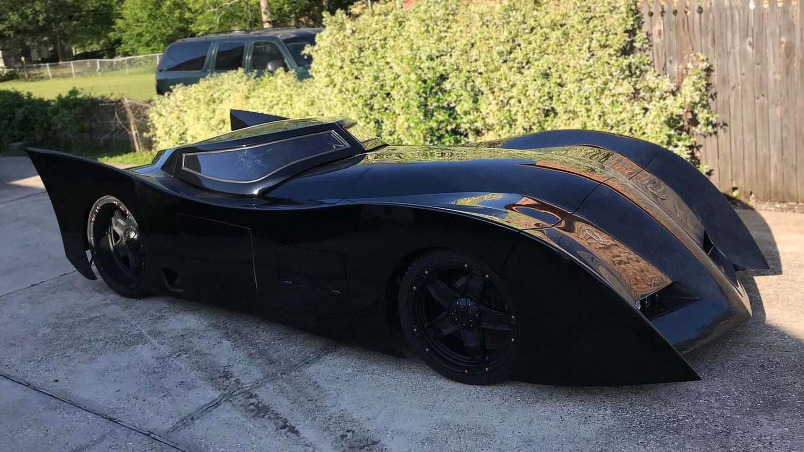 Real Life New Batman Adventures Batmobile