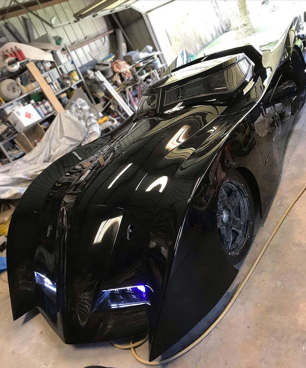 Real Life New Batman Adventures Batmobile