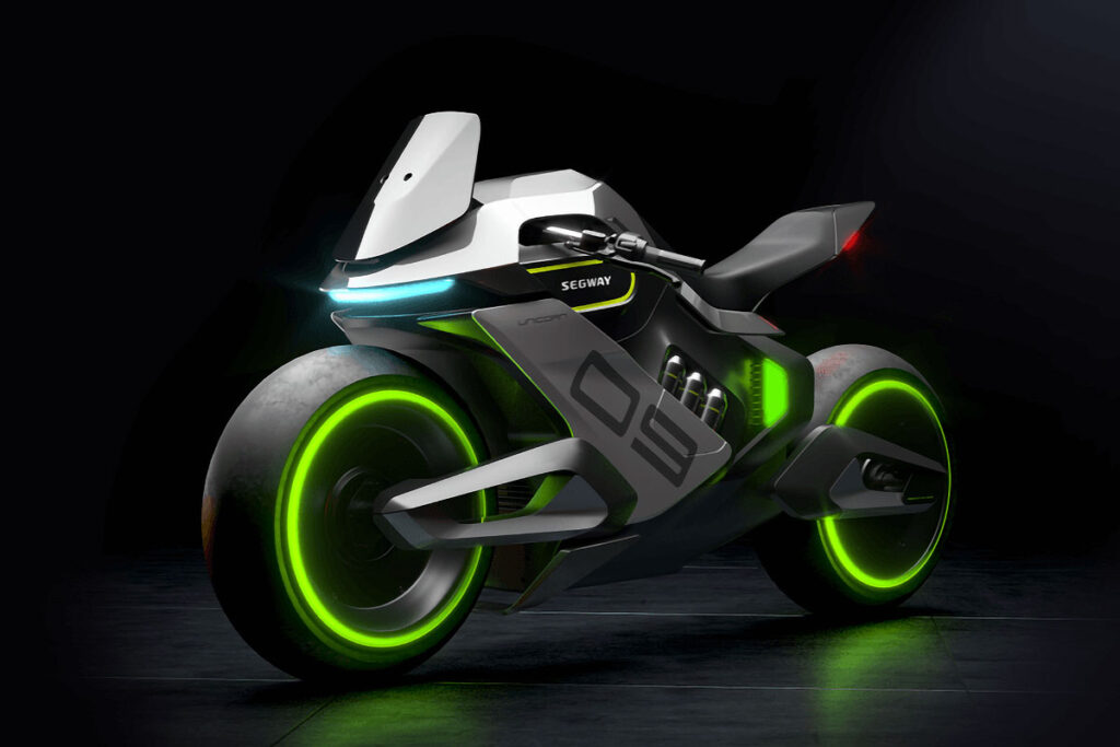 Segway APEX H2 Hydrogen Electric Motorcycle