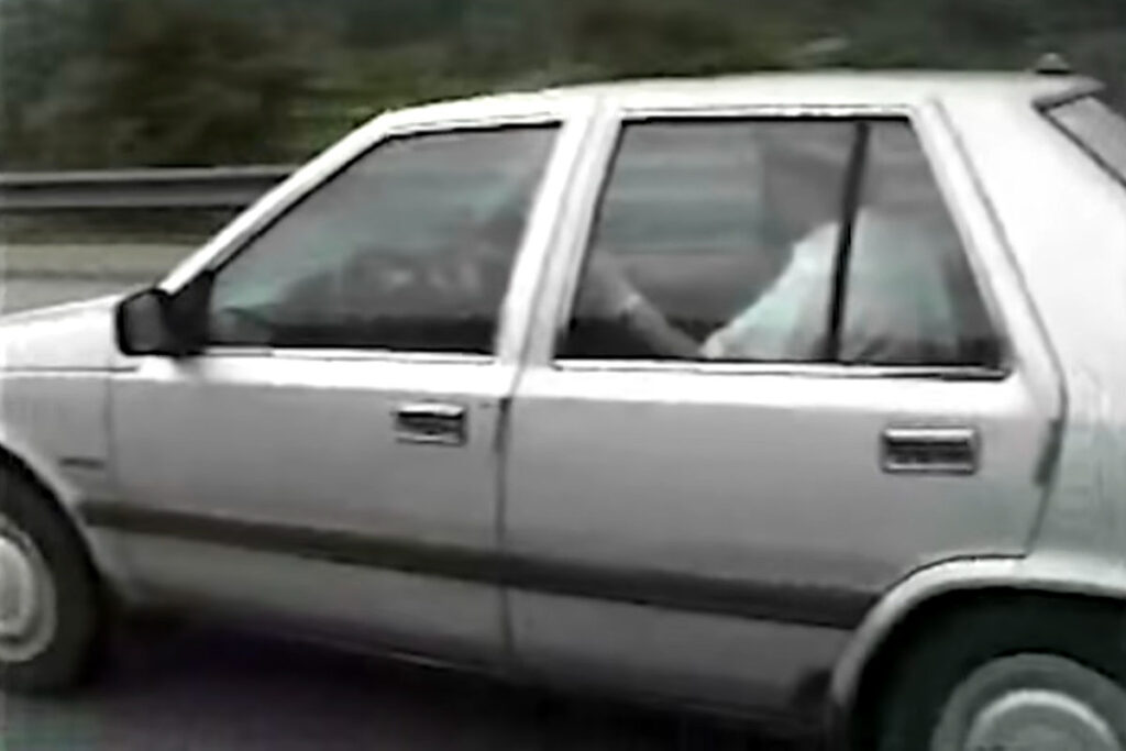 South Korean Self-driving Car from 1990s