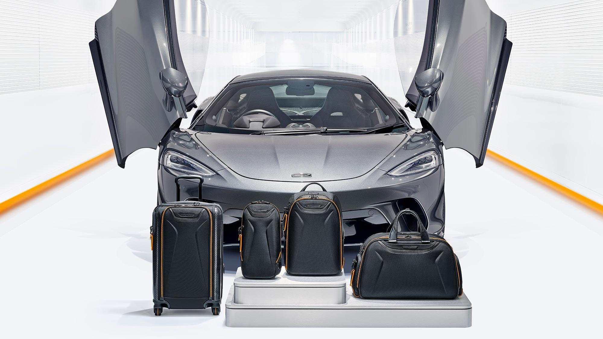 TUMI x McLaren Capsule Collection