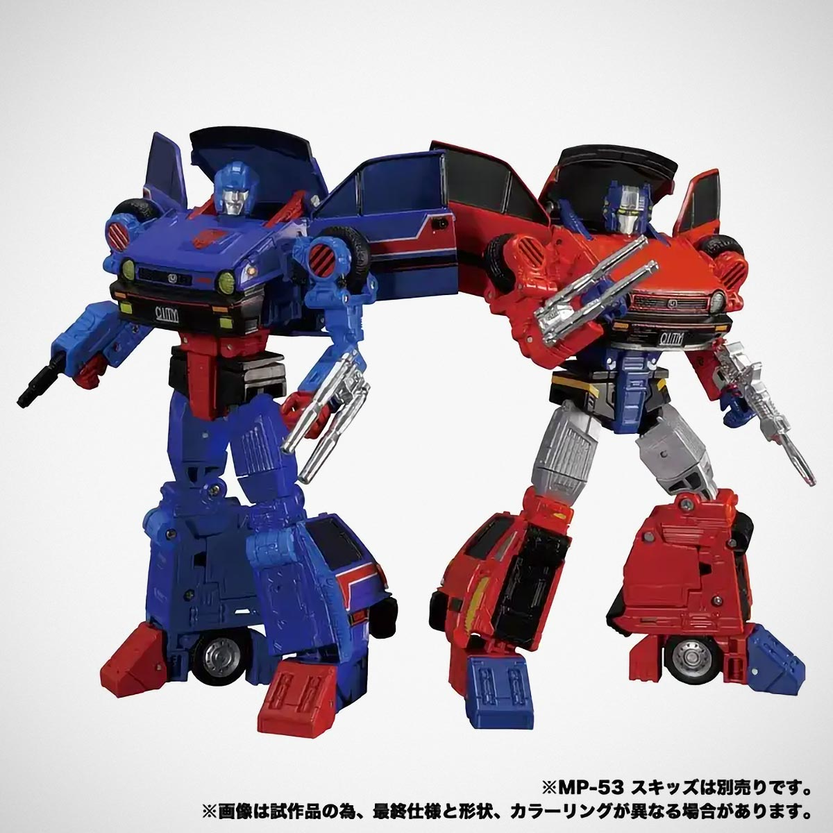 Takara Tomy Transformers Masterpiece MP-53 and MP54