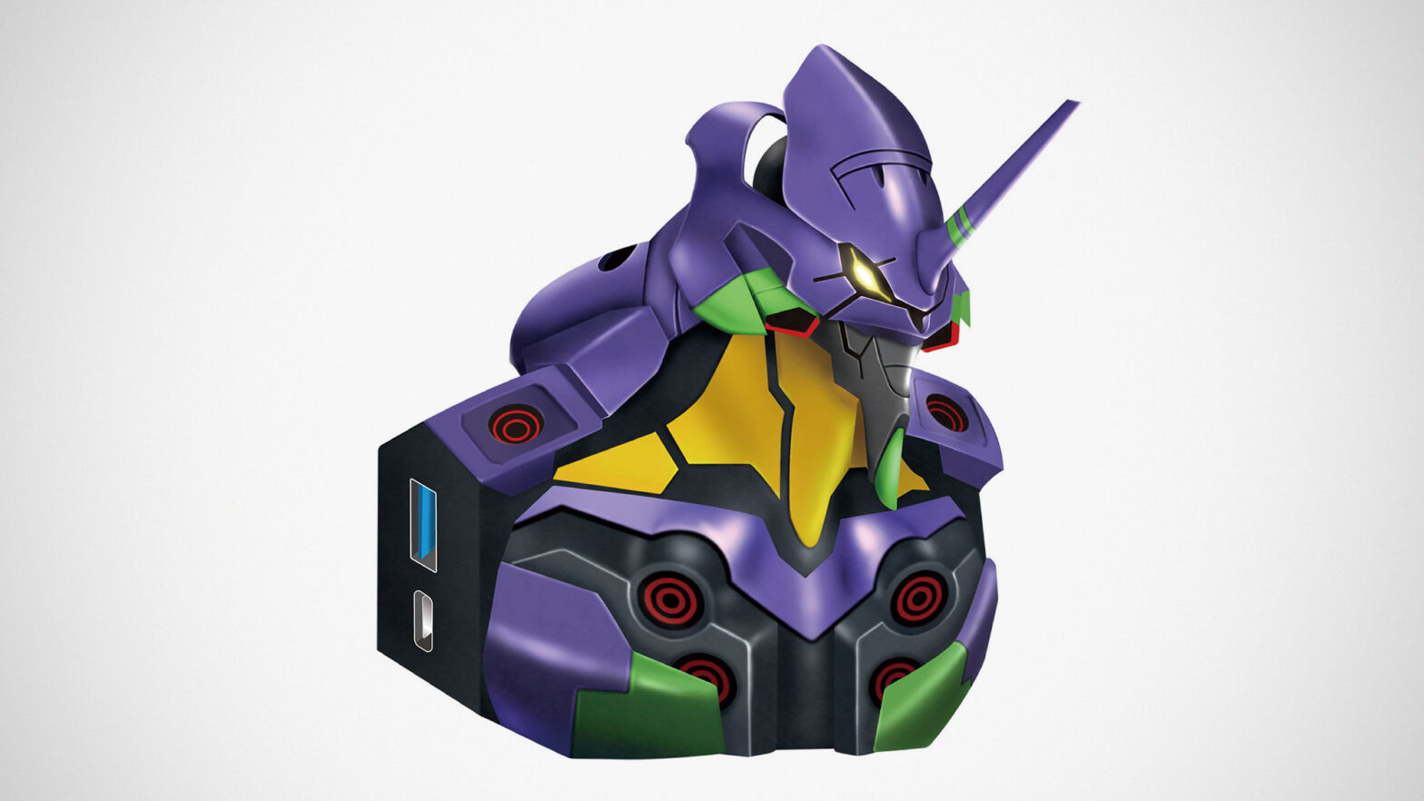Tops Electroys Evangelion Unit-01 USB Hub