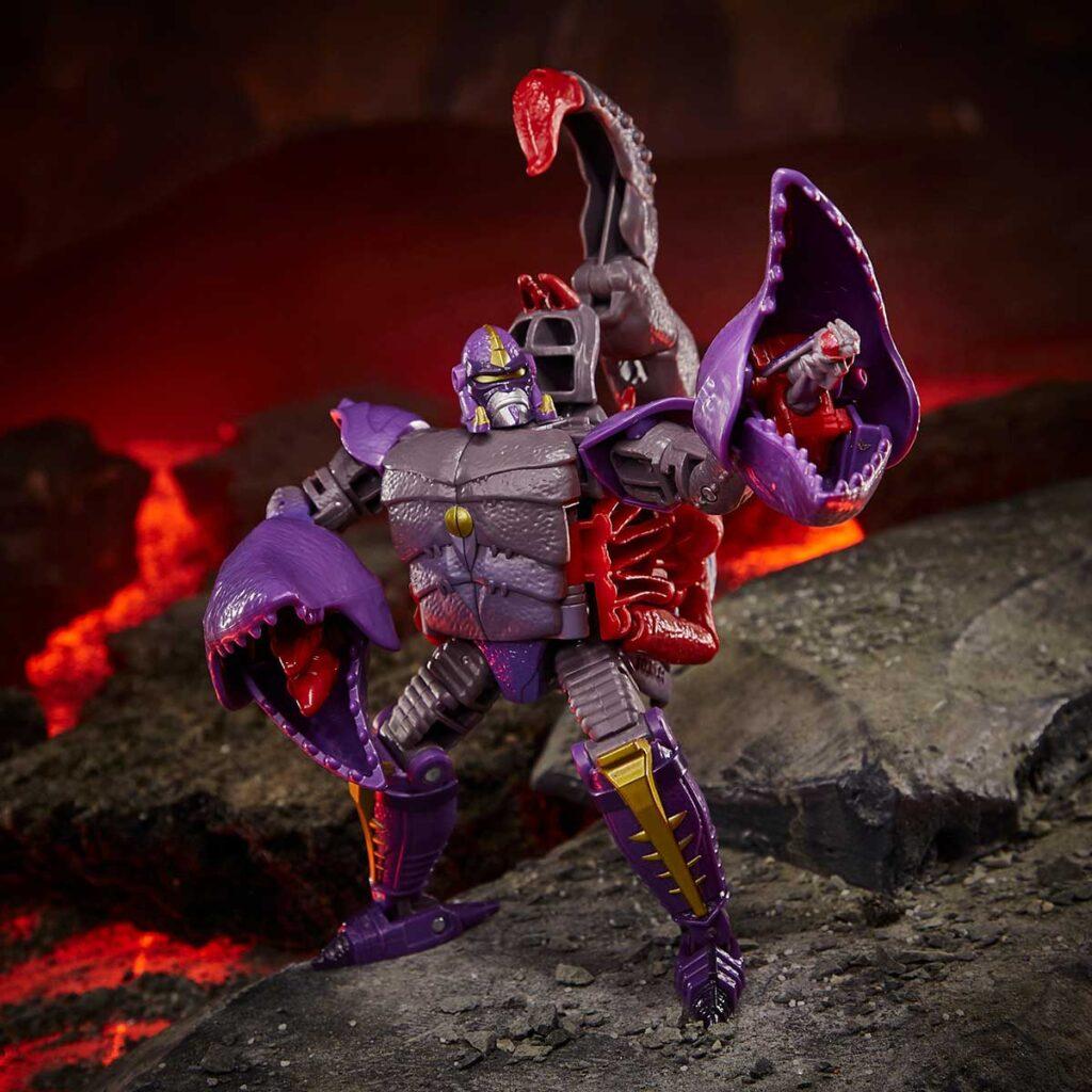 Transformers Beast Wars Scorponok Deluxe Class