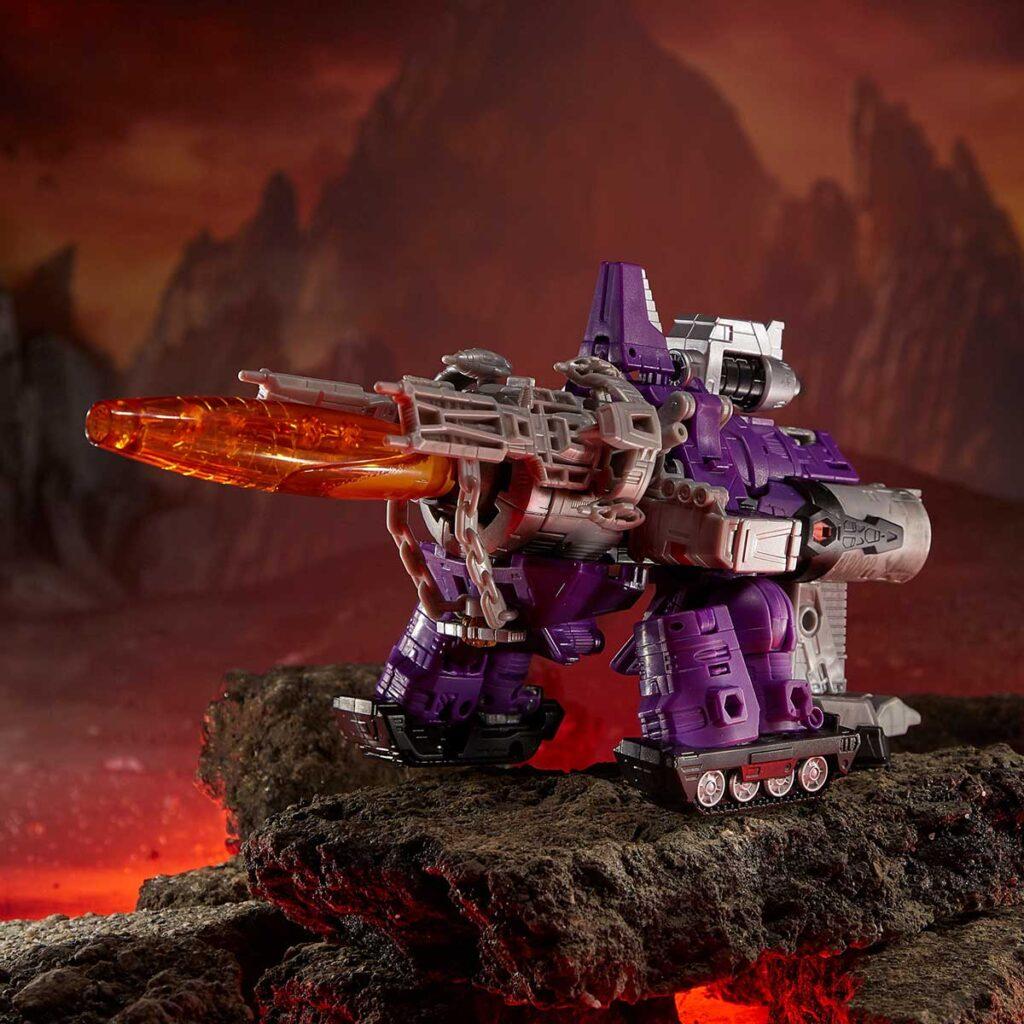 Transformers WFC Trilogy Galvatron Leader Class