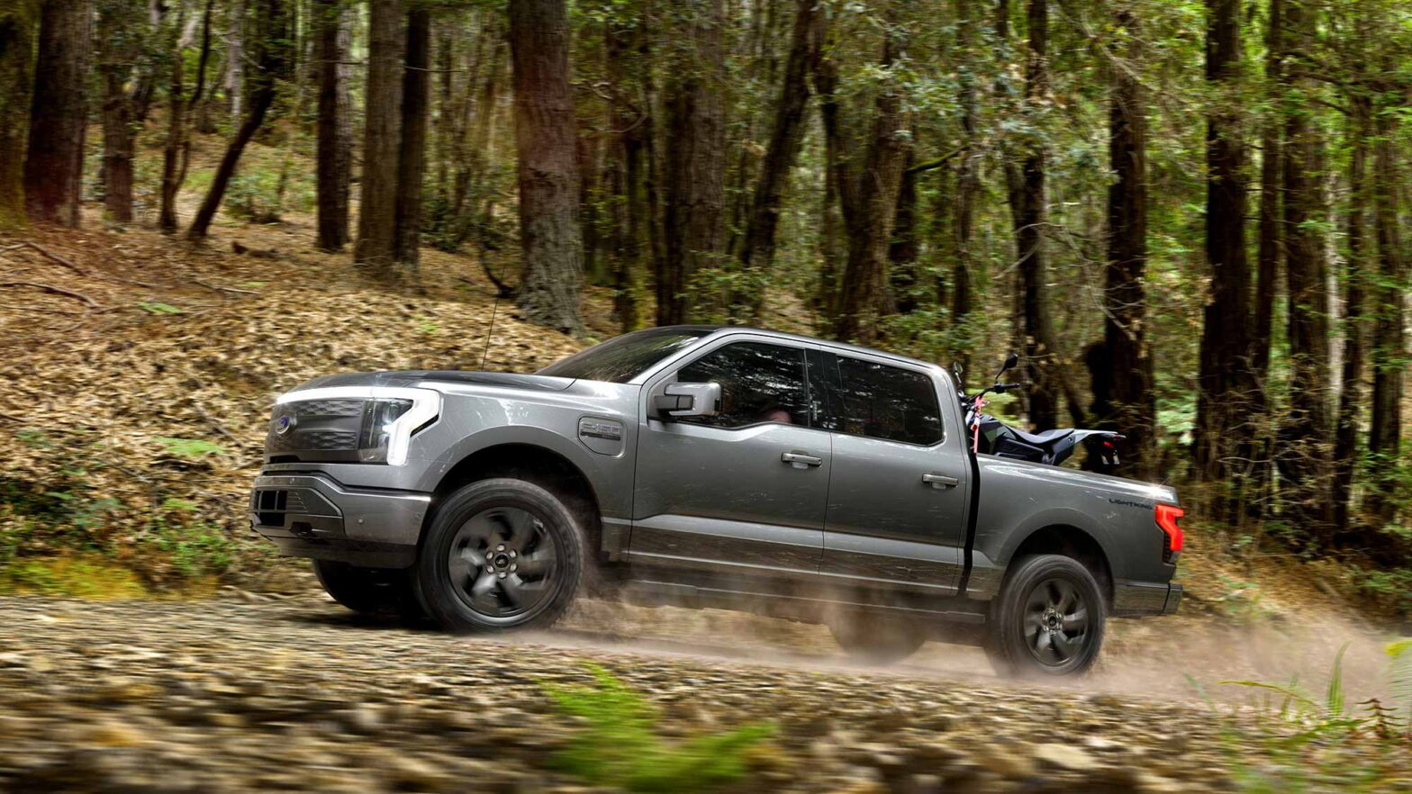 2022 Ford F-150 Lightning Electric Truck