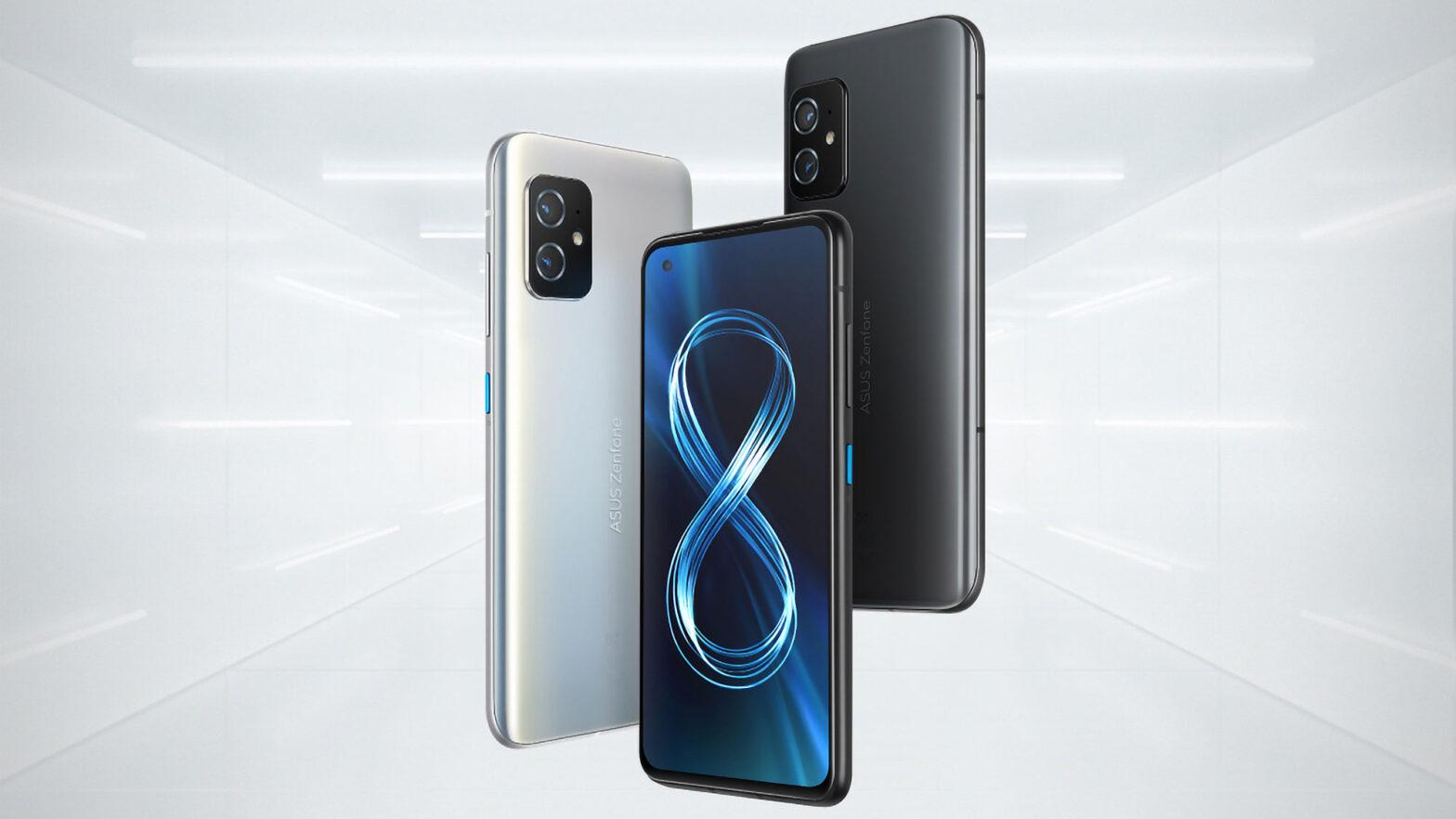 ASUS Zenfone 8 and Zenfone 8 Flip Smartphones