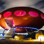 """""""UFO House"""" Futuro House Is Now Available On Airbnb. Alien Companions Not Included"""
