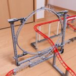 Take A Seat In This 202 Feet Custom LEGO Roller Coaster Track