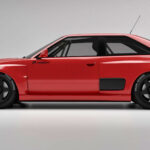 Audi Coupe Project Widebody Kit Will Turn An Audi Coupe To A 80s Group B Rally Car Lookalike