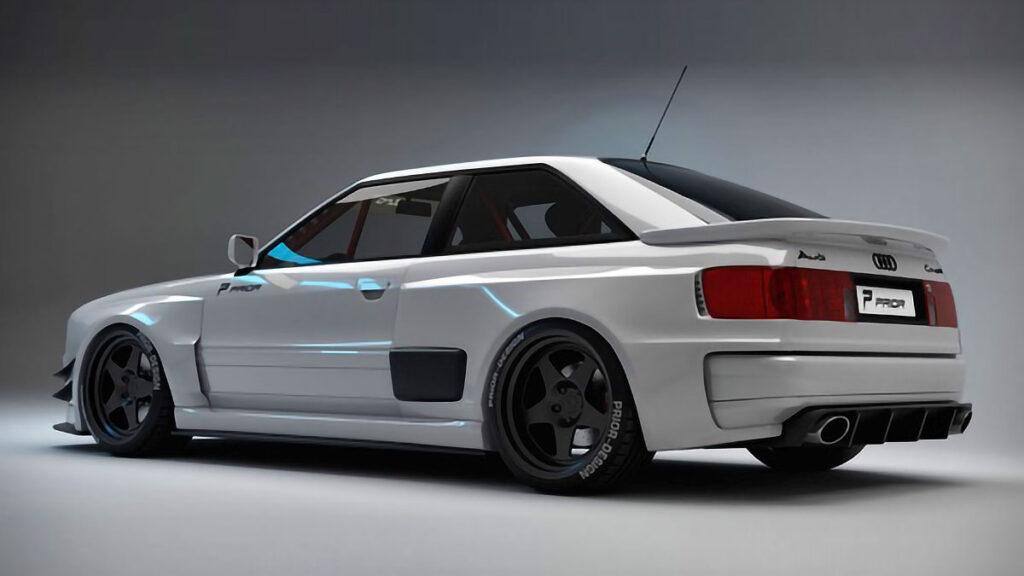 Audi Coupe Projekt Widebody Kit by Prior Design