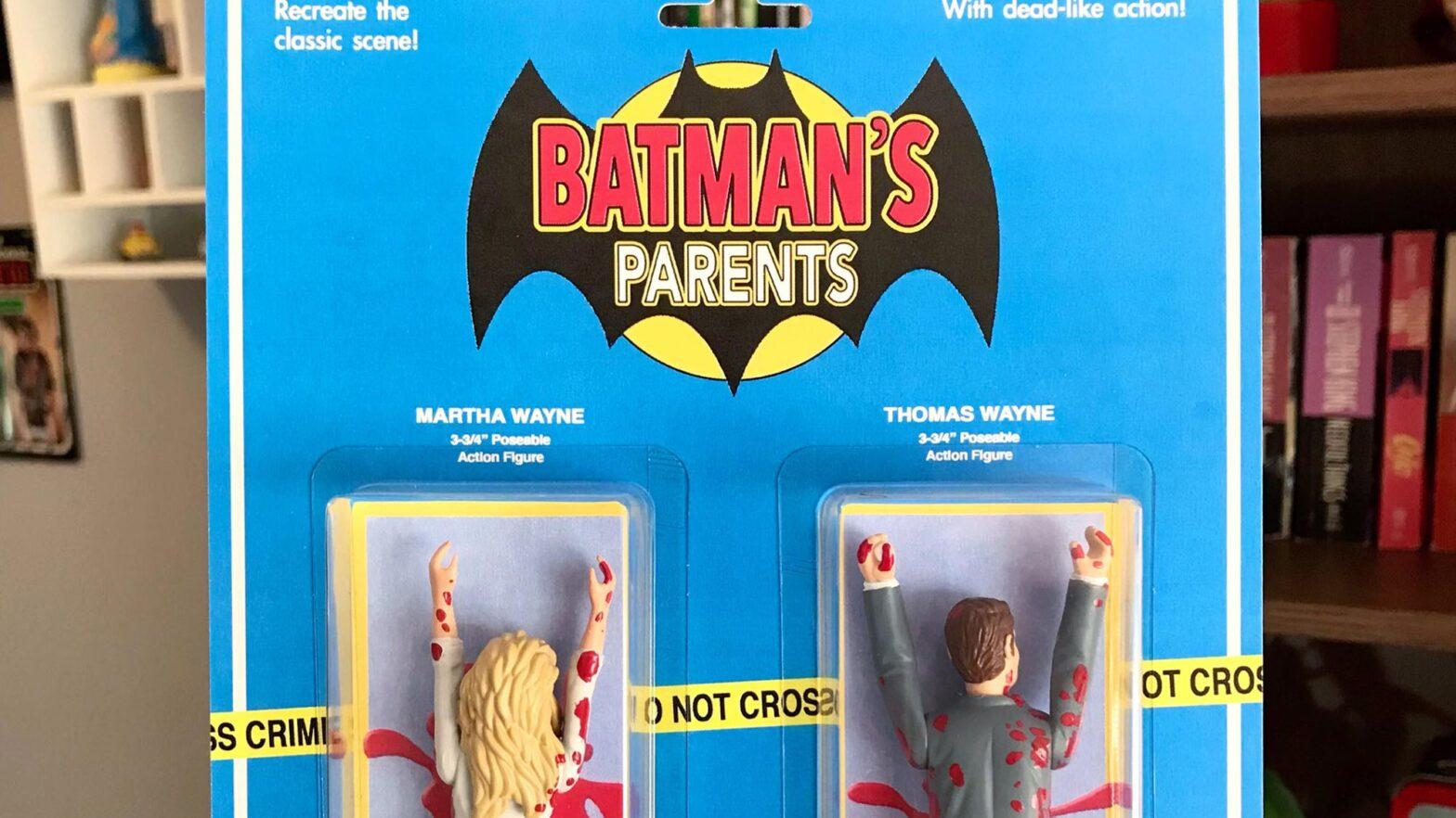Batman's Parents Action Figures by Death by Toys