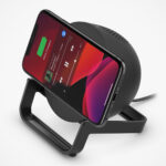 Nothing Much, It's Just A Wireless Charging Stand That Is Also A Bluetooth Speaker