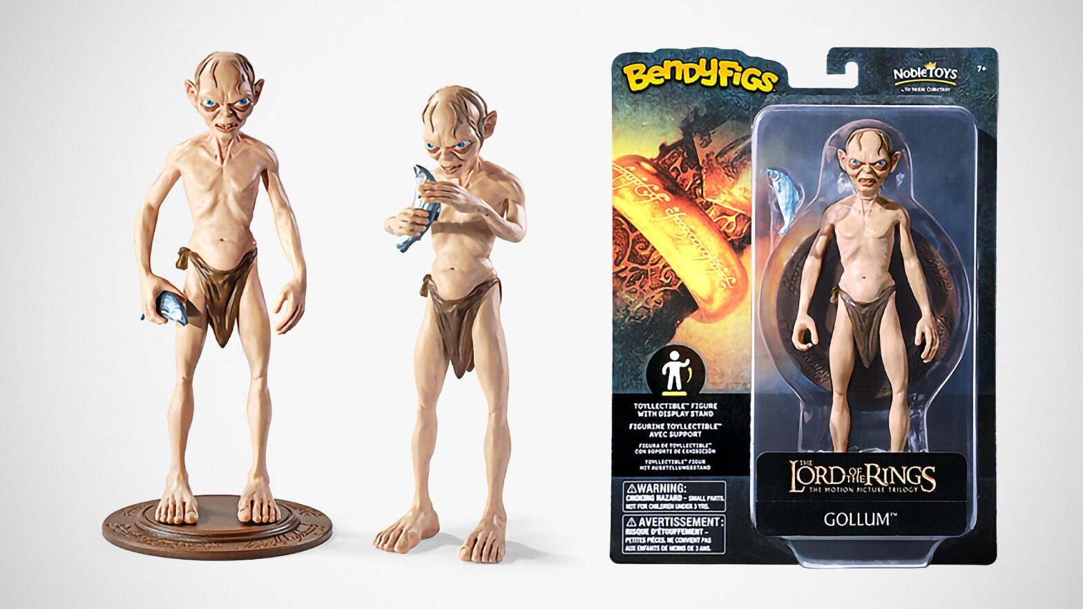 BendyFigs Bendable 7-inch Action Figures