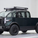 Canoo All-electric Pickup Truck Has An Extendable Bed And It Is Camper Ready