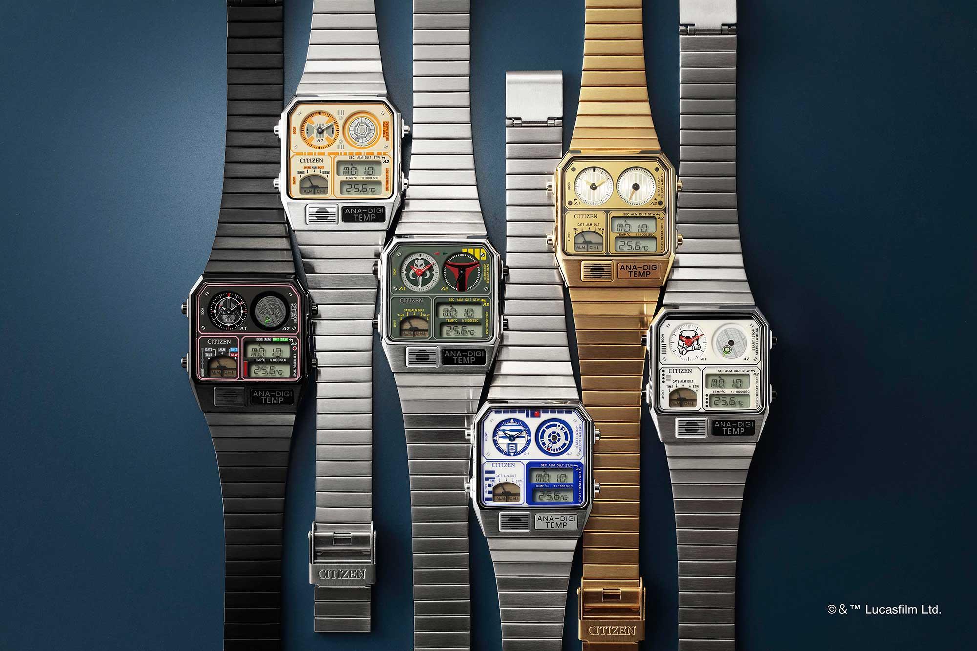 Citizen x Star Wars Ana-Digi Temp Watches