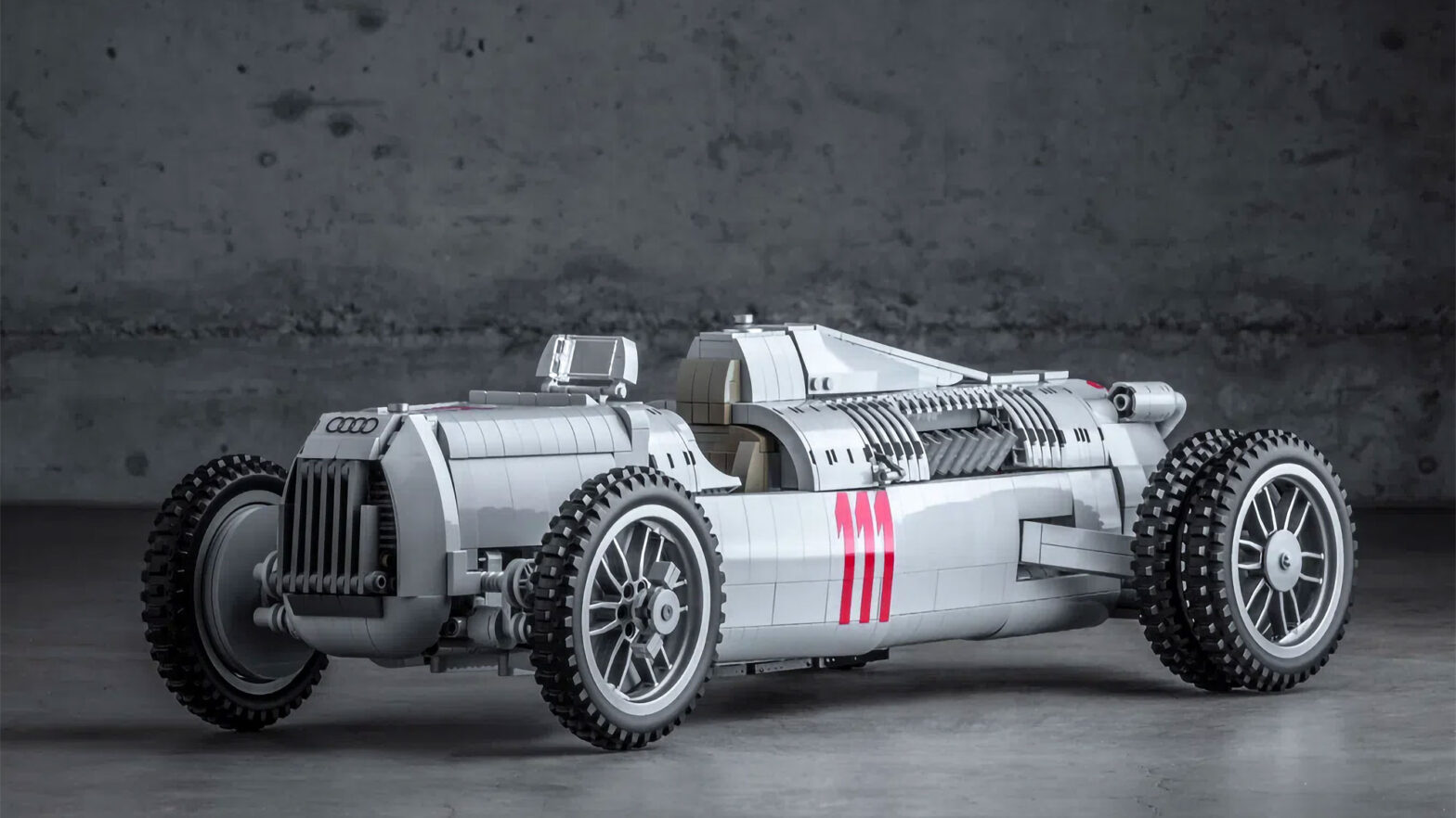 Custom LEGO Auto Union Type C Race Car