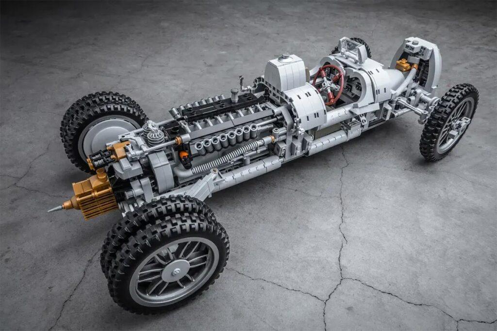 Custom LEGO Auto Union Type C Race Car
