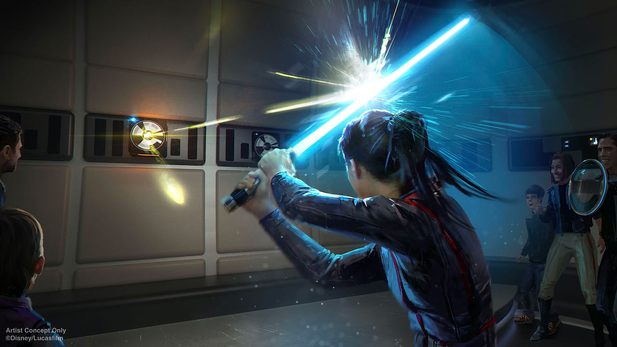 Disney Imagineering Real-life Lightsaber Unveiled