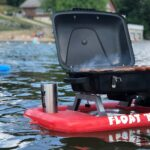 Float 'N' Grill Portable Propane Grill Lets Your BBQ On The Water Because, Why Not?