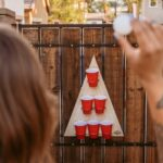 Free Pong. It's The Beer Pong, But Mounted Vertically On A Wall