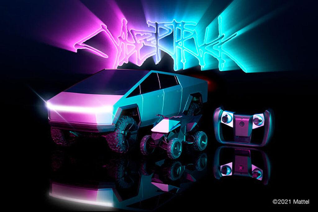 Hot Wheels Cybertruck 1:10 RC Truck
