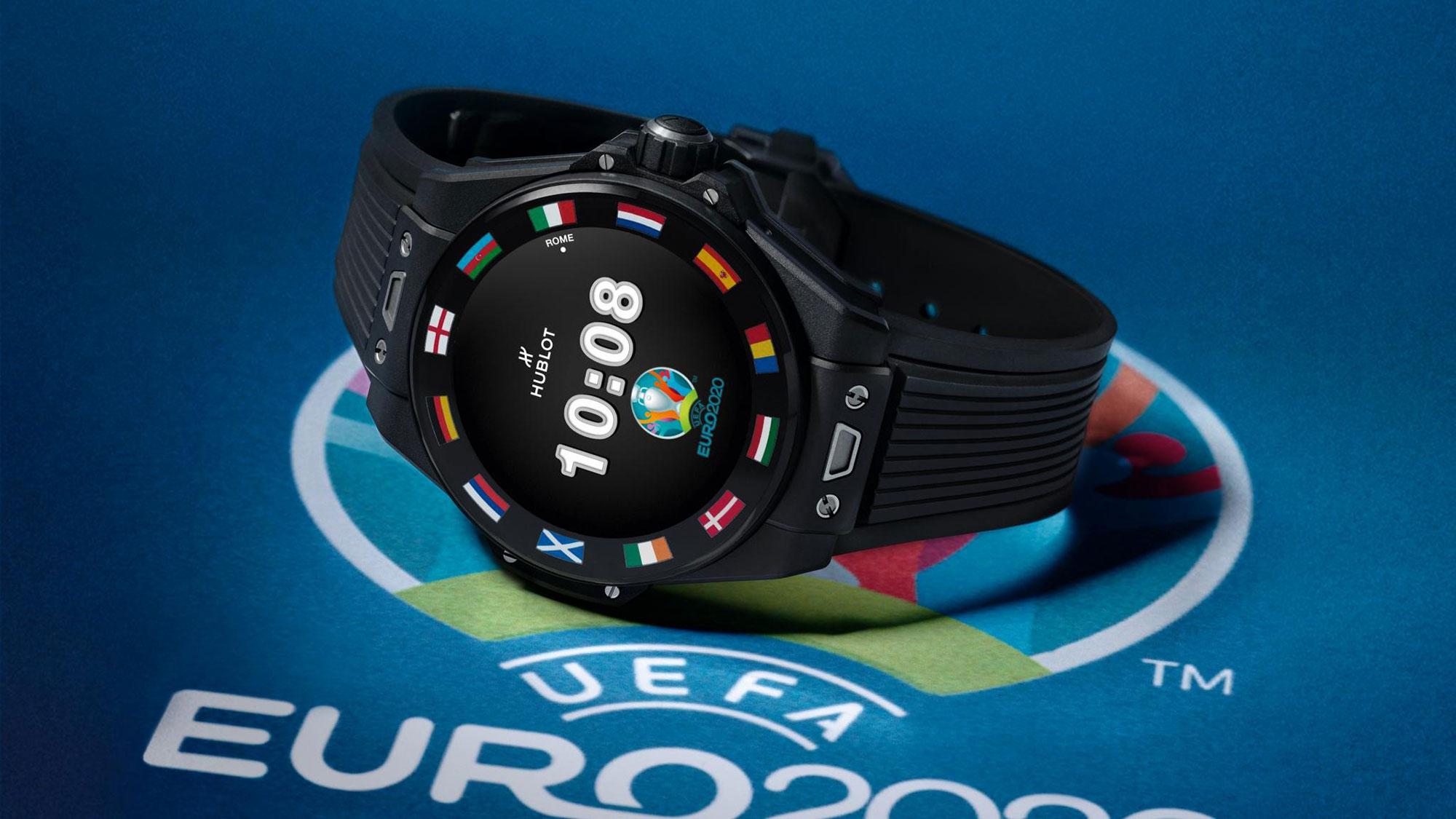Hublot Big Bang e UEFA Euro 2020 Connected Watch
