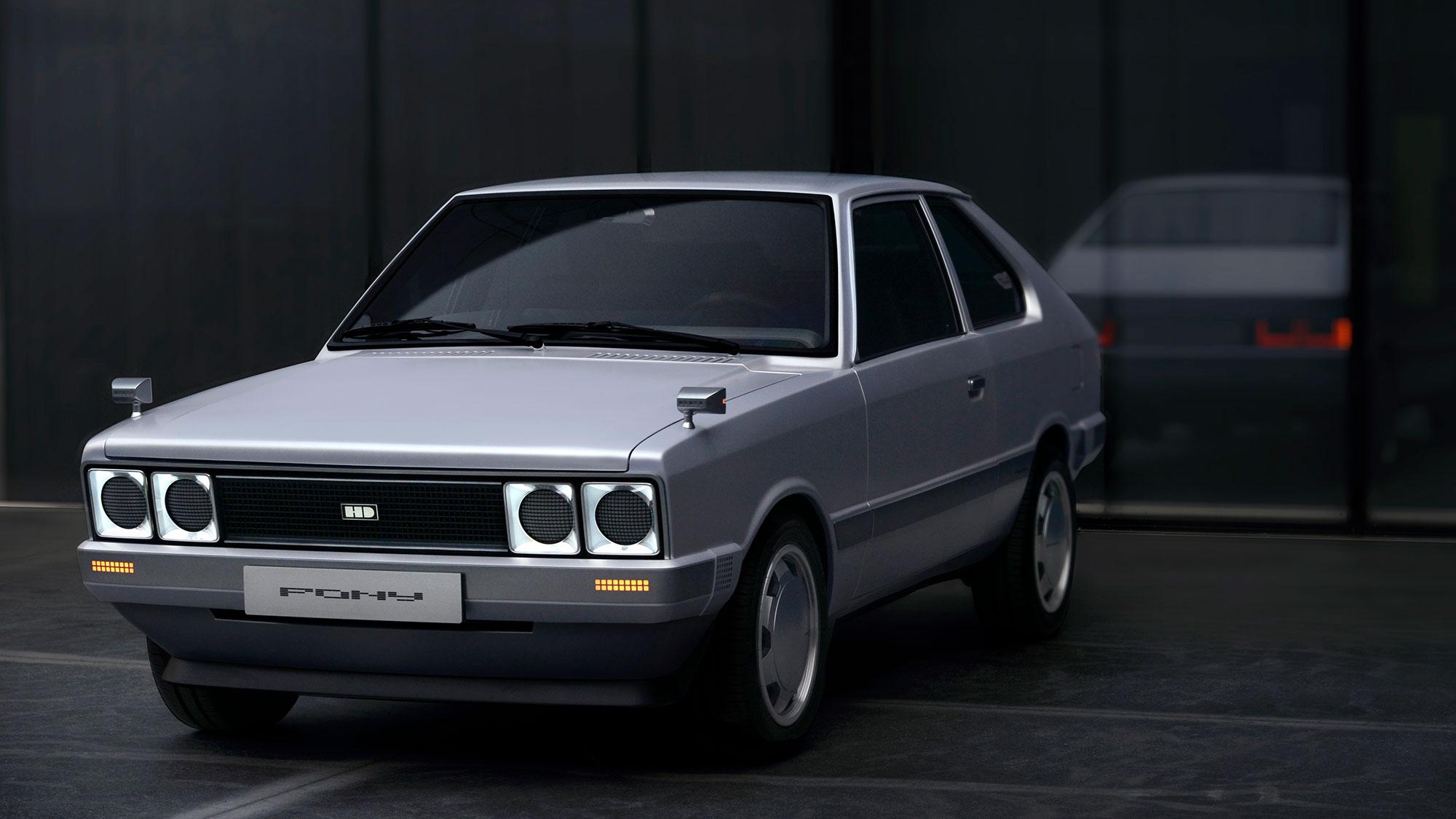 Hyundai Heritage Series PONY Electric Vehicle